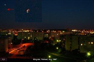Gizycko, Poland UFO