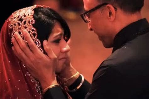 emotions   father captured   touching wedding video