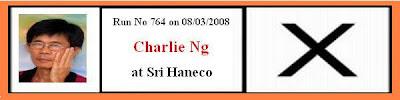 Next Run on 08/03/2008 Vote for Charlie at Sri Haneco
