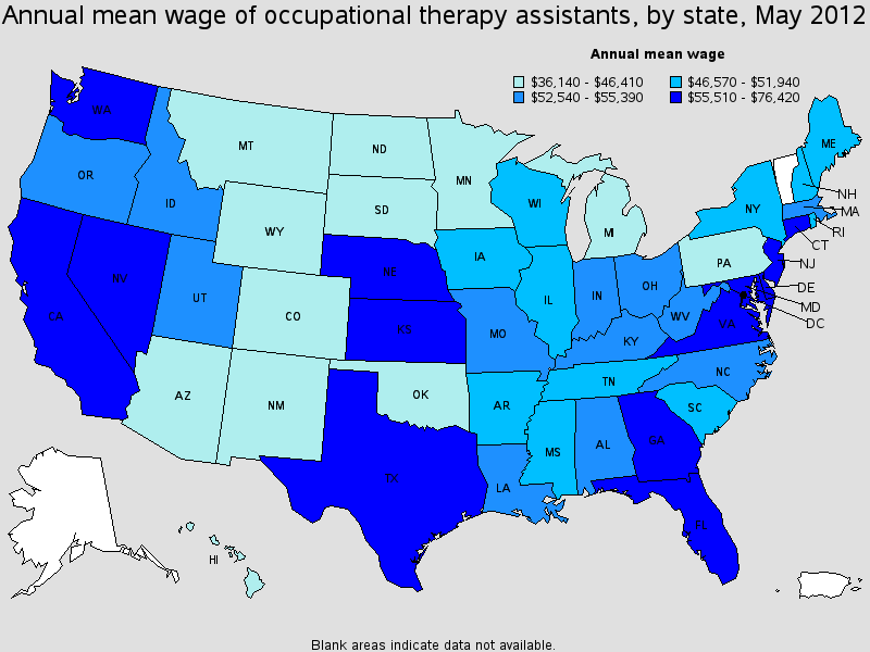 Occupational Therapy Assistant Salary - Healthcare Salary ...