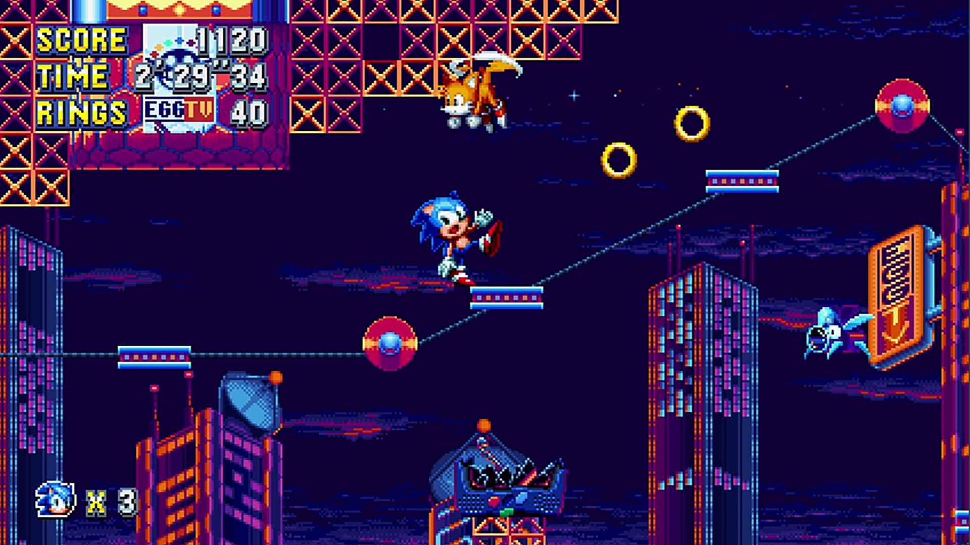 Sonic Mania was just hit with a two-week delay on PC screenshot