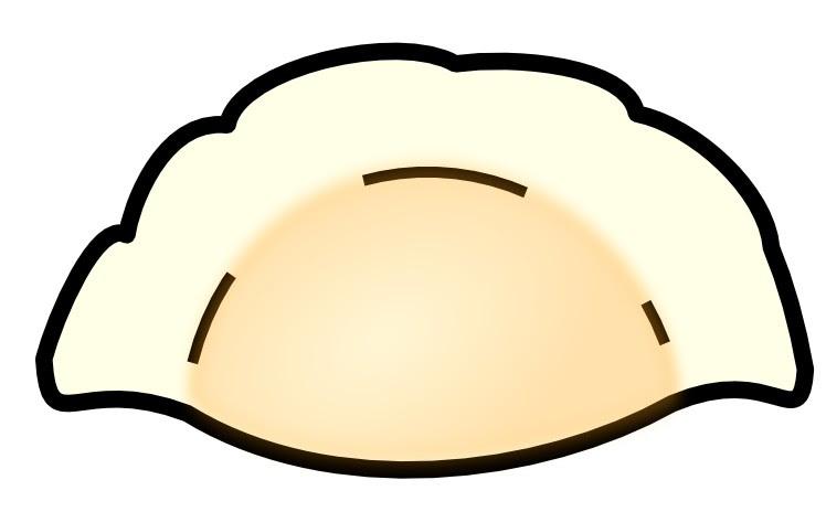 餃子のイラストボツ画像