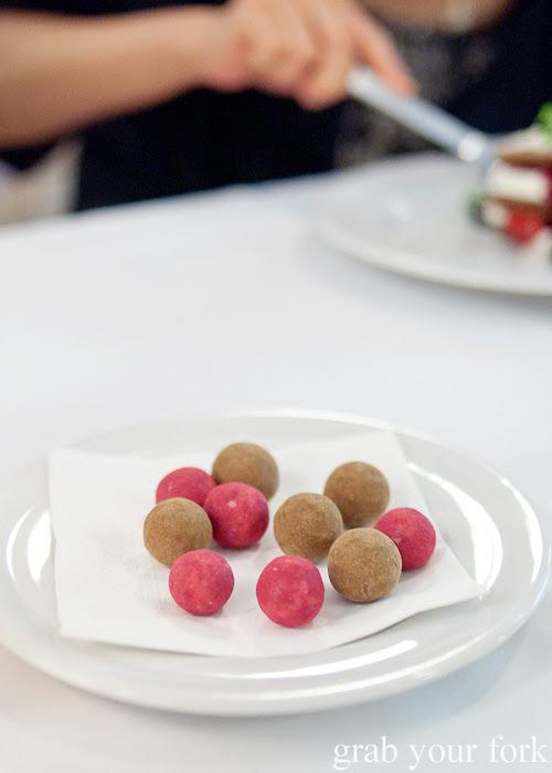 Danish licorice at Restaurant Dansk for A Danish Food Trail