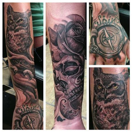 The Bohemian Tattoo Club And Gallery Tattoos Body Part Arm