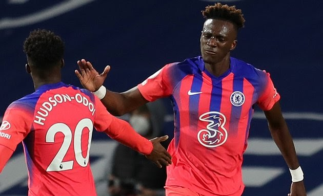 Chelsea goalscorer Abraham pleased after 0-2 victory over Newcastle