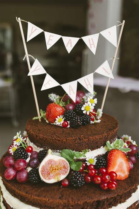 Wedding Cake ein bisschen Boho Chic, ein bisschen