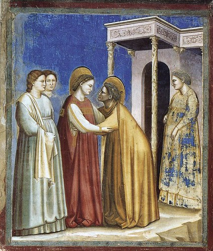 The Visit of Mary to Elisabeth