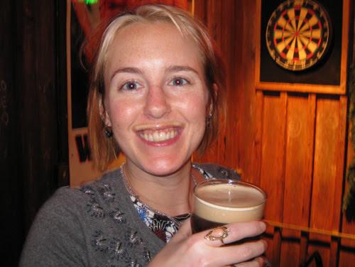 Guinness  moustache