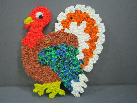 popcorn plastic turkey