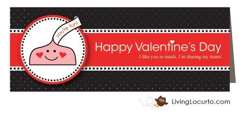 Free Party Printable Valentine Label