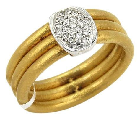 GURHAN 20713/ Horizon Diamond 24k Gold & 18k White Gold 3