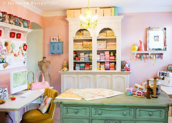 all crafts 12 Beautiful Crafting Rooms {diy}