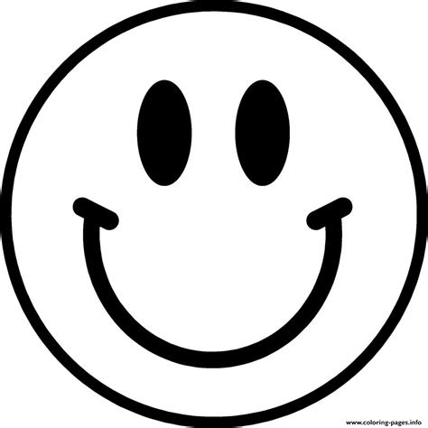 emoji coloring pages smile face  coloring pages
