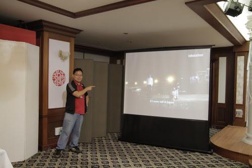 INHALATION trailer showing at Japan Reception