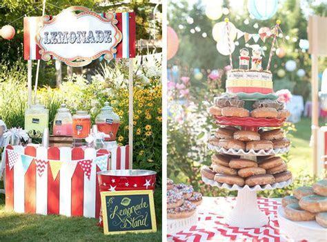 Kara's Party Ideas Outdoor Wedding Reception Carnival
