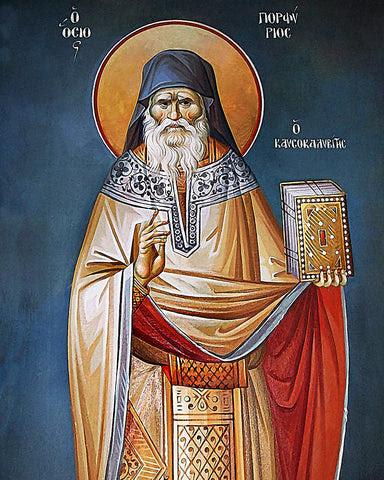 Resultado de imagen para St. Porphyrios (Bairaktaris) of Kafsokalivia