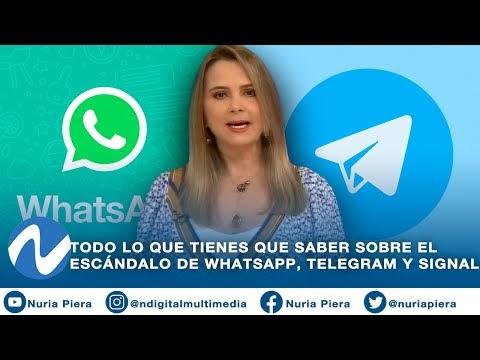 TODO LO QUE TIENES QUE SABER SOBRE EL ESCÁNDALO DE WHATSAPP, TELEGRAM Y SIGNAL