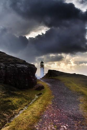 Rua Reidh Lighthouse - A blink of light - (explored) by Michael & Ashley