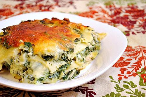 Instant Pot: Alfredo Chicken, Spinach & Artichoke Lasagna