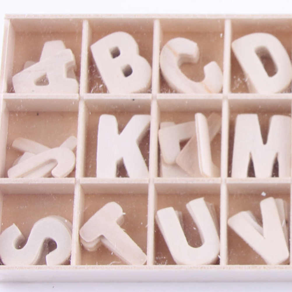 100pcs Mix Wooden Scrabble Tiles Letters Craft Alphabet Board Game Fun Toy Gift Electrical Deals