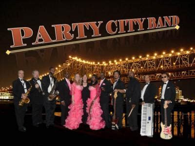 Party City Band   Book or Hire the Party City Band for