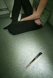 Akathisia suicidal victim