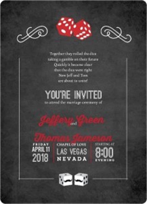 Las Vegas Wedding Invitations: Invitation Wording, Ideas