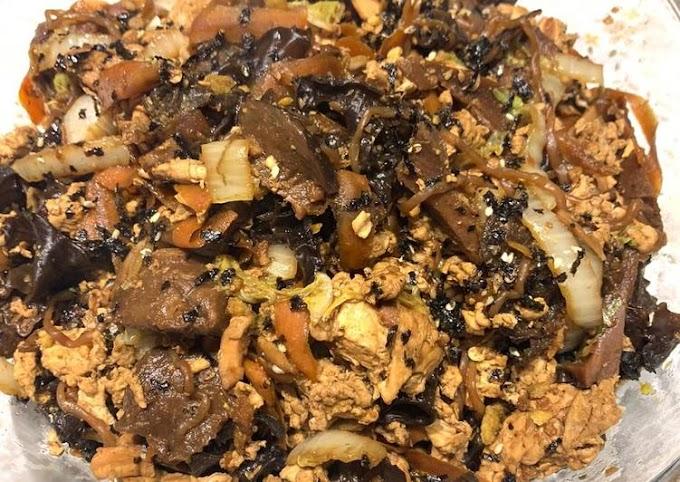 Resep Mudah Mi goreng jamur Terenak
