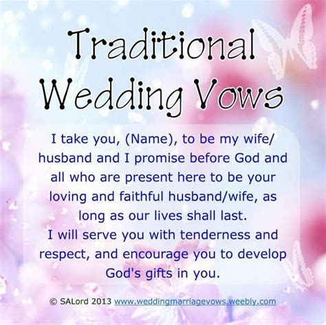printable romantic phrase   Wedding Vows Ideas
