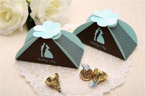 CB2024 Bride And Groom Cute Wedding Box Gift Box Candy Box