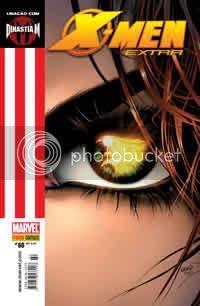 Capa nacional de X-Men Extra