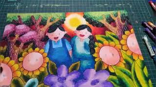 All Clip Of Cara Menggambar Dan Mewarnai Dengan Crayon Grasp