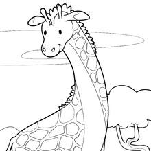 Jirafa Dibujos Para Colorear Manualidades Para Niños Dibujo Para