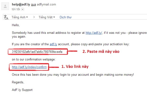 đăng ký tài khoản Adf.ly 3