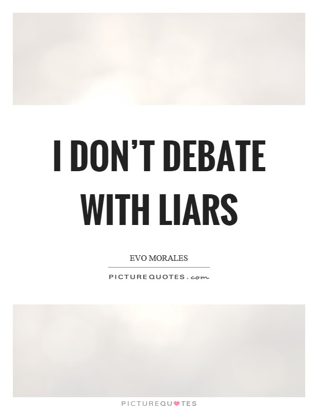 Quotes About Liars And Users Quotesgram