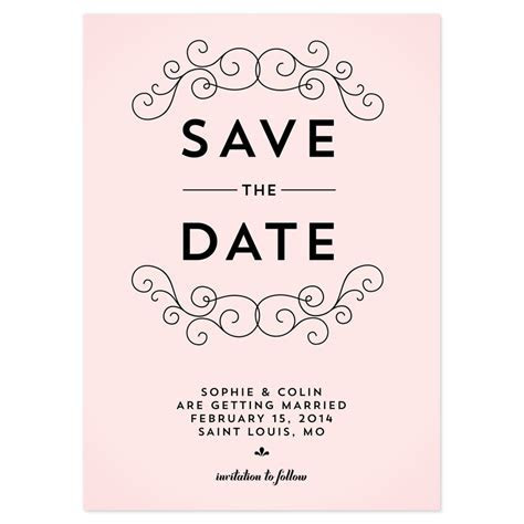 Save The Date Wedding Invitation Wording