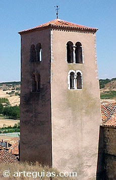 Torre de Valdeande, de origen prerrománico