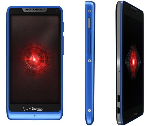 Verizon intros Droid RAZR HD and RAZR M in blue