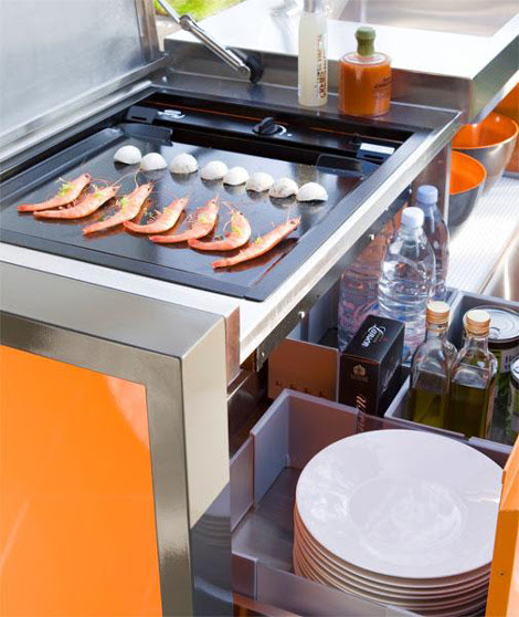Modular outdoor kitchens contemporary outdoor kitchen units by ...