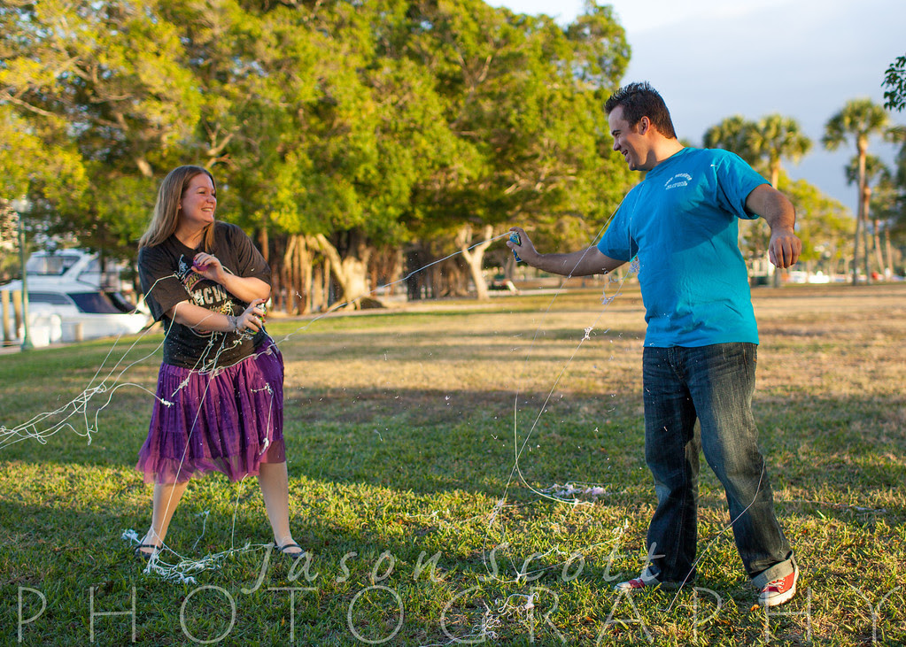 Kara and Chris at Bay Front Park, January 2013