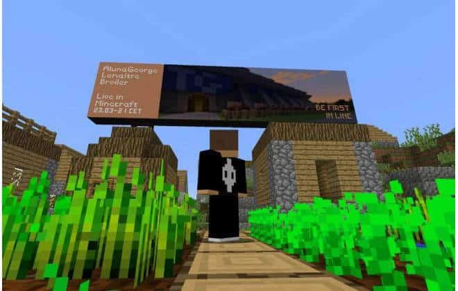 Minecraft ganha primeiro concerto ao vivo