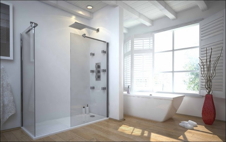 Walk In Shower without Door in Recent – HomesFeed