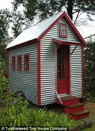 Mobile: The teeny homes, which start at just 65 square feet, are kitted out with fully-functioning kitchens, bathrooms and sleeping areas - some models even come on wheels