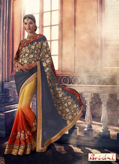 Best Indian Bridal Saree Designs For Weddings In 2019