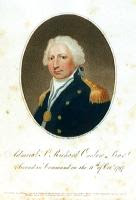 Admiral Sr Richard Onslow Bart. Second in Command on the 11th of Octr. 1797