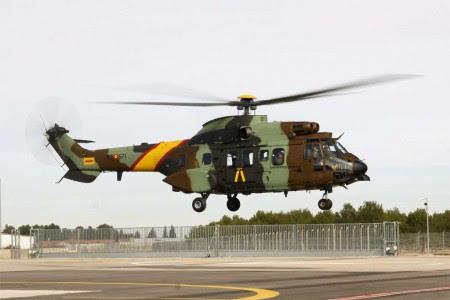 Eurocopter AS532 AL Cougar para la UME