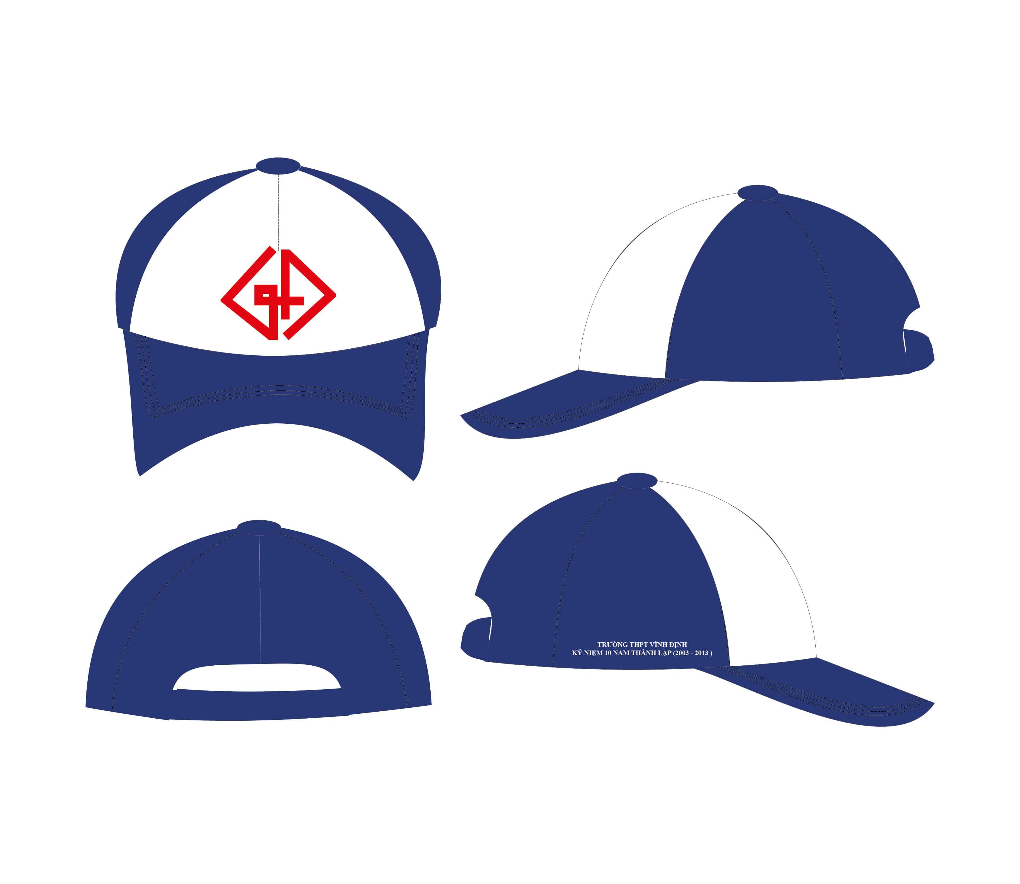 đặt nón theo yêu cầu