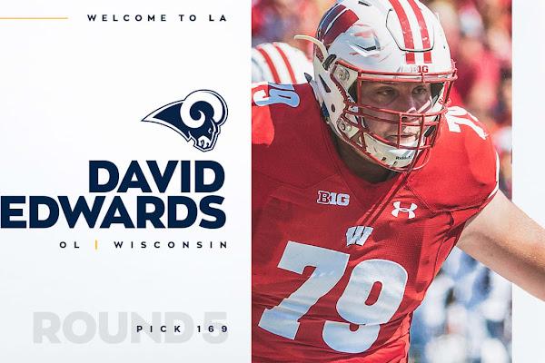 da8ef6e8a57 Rams add OL David Edwards in late fifth round