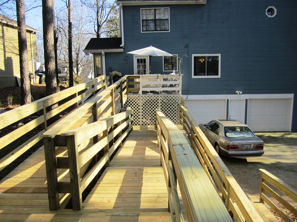 New 100 E2 80 B2 Wheelchair Ramp Installed In Atlanta Area