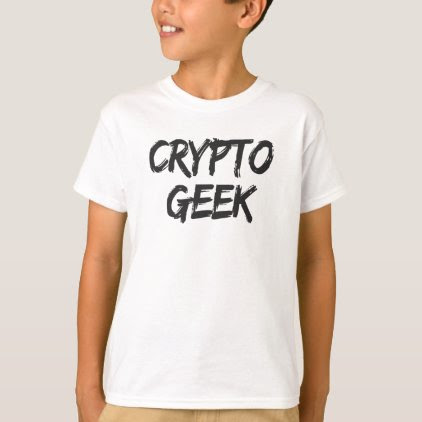 Crypto Geek Print T-Shirt